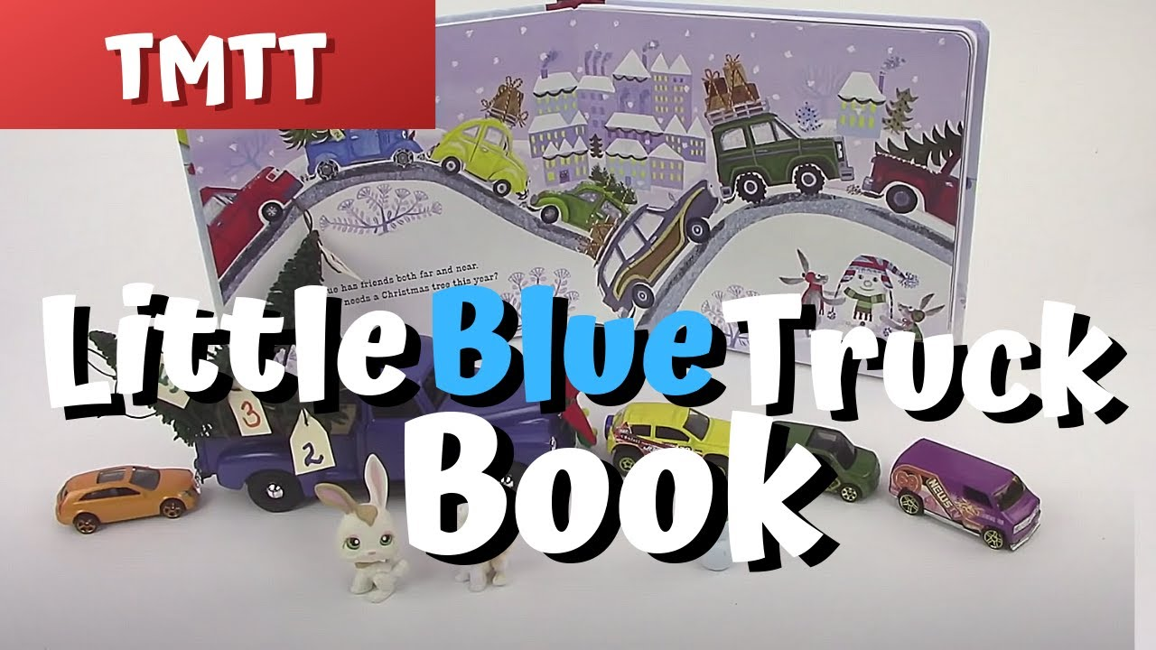 Little Blue Truck Books in Speech Therapy for Toddlers