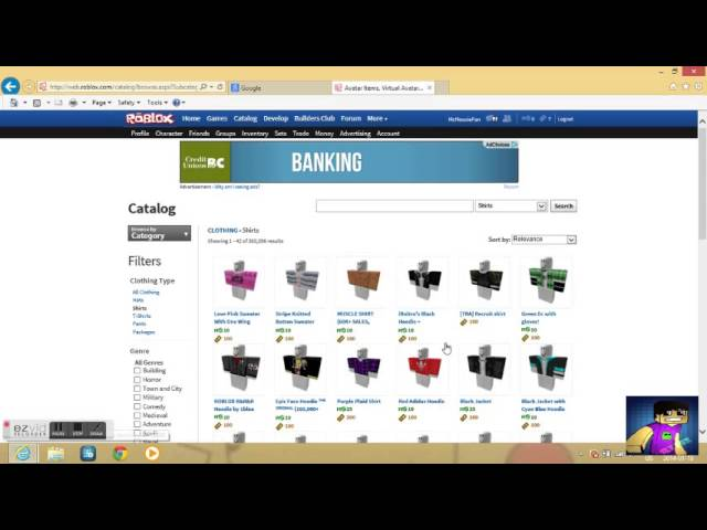 How To Get Clothes Codes On Roblox Youtube