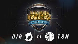 DIG vs. TSM - Week 7 Game 2 | NA LCS Summer Split | Team Dignitas vs. TSM (2017)