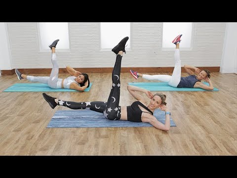 8-Minute Flat-Belly Workout With Astrid Swan