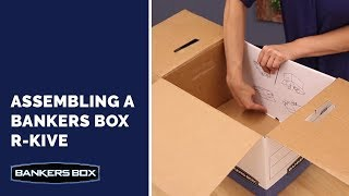 Assembling your Bankers Box R-Kive® File Box