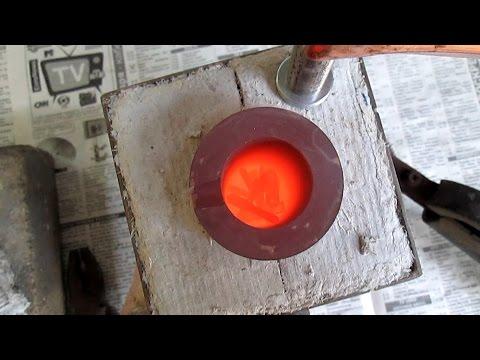 Муфельная печь для золота и серебра  -  своими руками