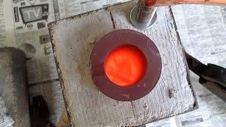 видео Плавильная печь своими руками: процесс изготовления