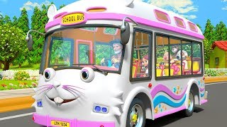 Wheels On The Bus | Nursery Rhymes & Kids Songs by Little Treehouse