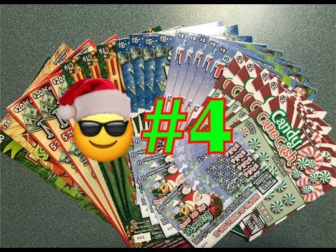 #4 | Holiday Pennsylvania Lottery Scratch Off Tickets