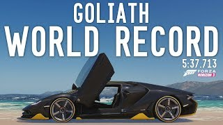 GOLIATH RECORD with Mods - 5:37.713 - Forza Horizon 3 (Not to be taken seriously, Just a fun video)