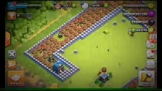 Clash of clans with 100 giant bomb with 100 pekka super pekka or golem