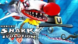 Hungry Shark Evolution - Mr. Snappy + Clown Baby