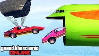 GTA 5: Online - Stunts & Funny Moments feat. New DLC Vehicles