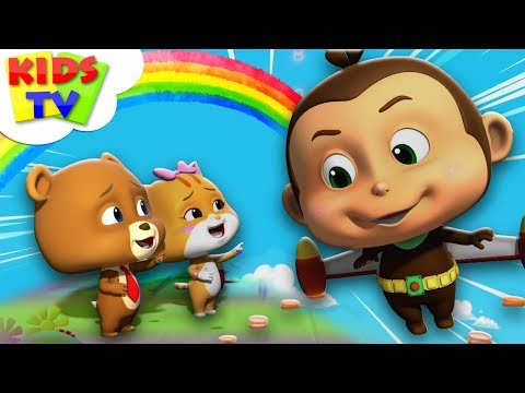 Jet Pack | Loco Nuts Kids Shows | Funny Cartoons For Children - Kids TV