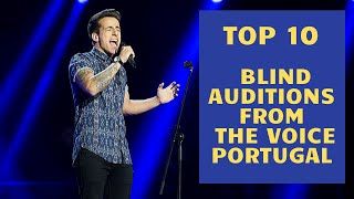Download lagu Top 10 Blind Auditions from The Voice Portugal (2014-2019)