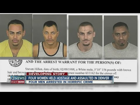 4 women held hostage and assaulted in Denver