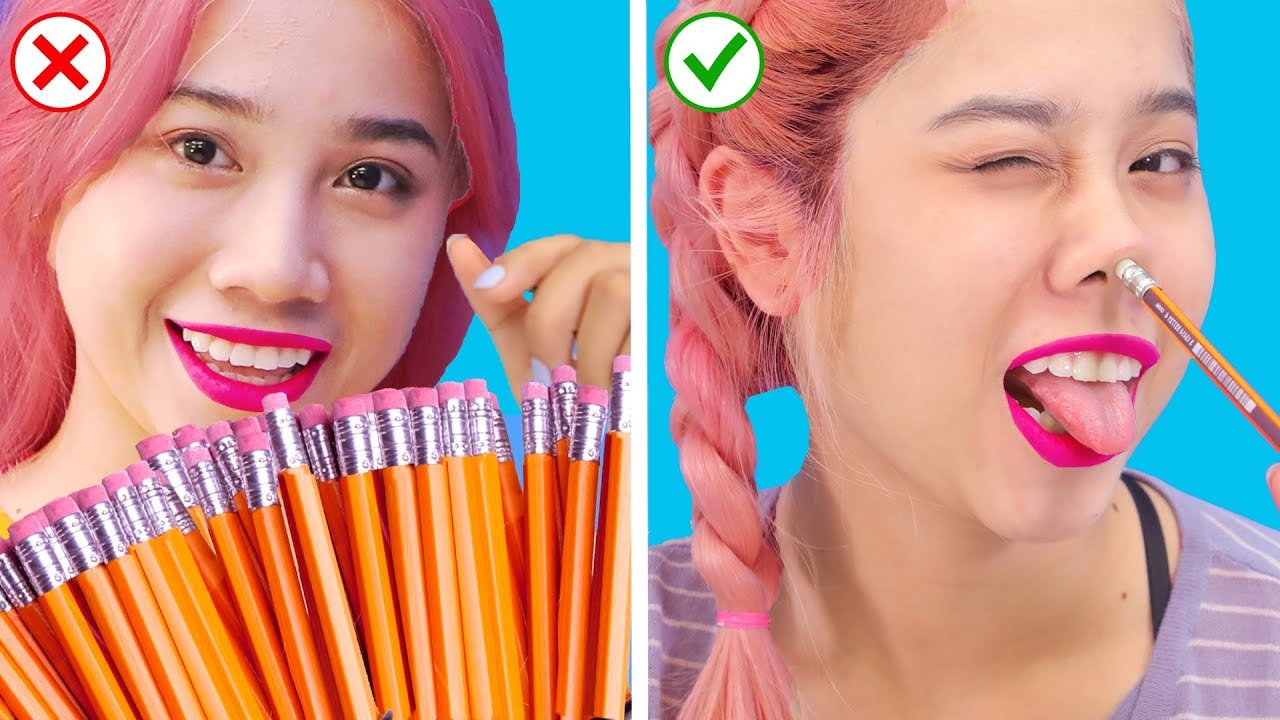 OMG! Back To School Hacks! DIY Useful School Supplies You Must Try