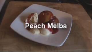 Peach Melba - Myvirginkitchen