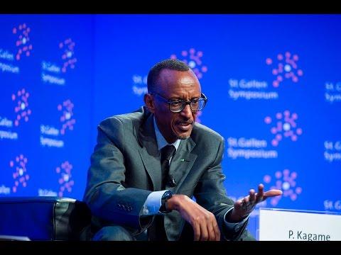President Kagame at St Gallen Symposium - Switzerland, 8 May 2015 (Part 2/2)