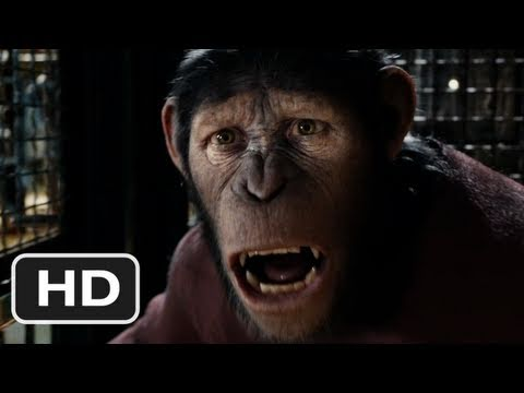 Rise Of The Planet Of The Apes Official Trailer #2 - (2011)