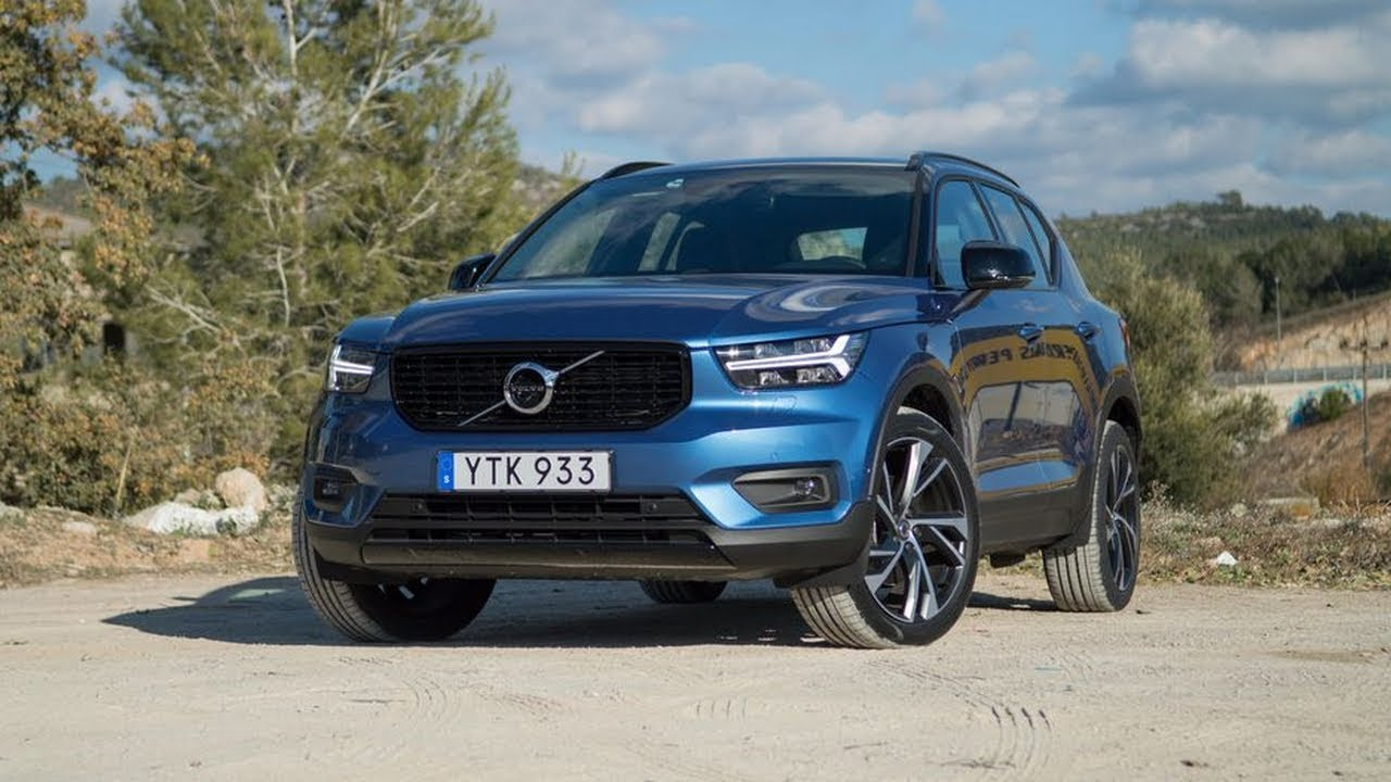 outstanding 2019 volvo xc40 t5 awd r design youtube. Black Bedroom Furniture Sets. Home Design Ideas