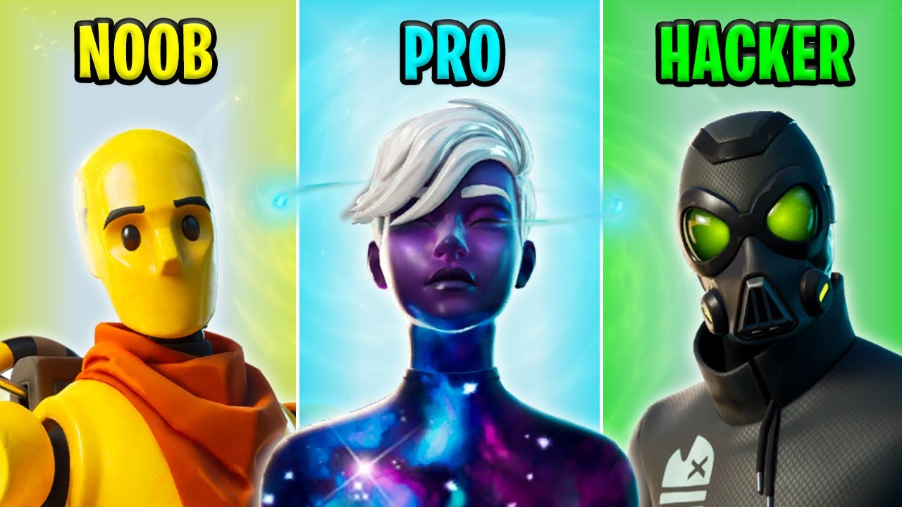 NOOB vs PRO vs HACKER - Fortnite Funny Moments #35