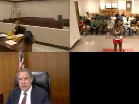 Harris County bond hearing