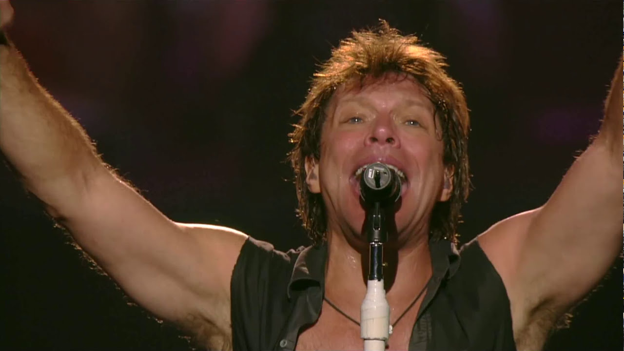 Bon Jovi In These Arms Live 2008 Madison Square Garden Youtube