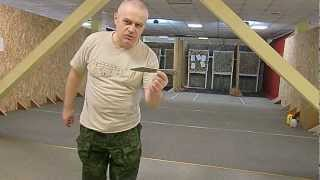 Метание ножа СКАНФ-1 с 11 метров