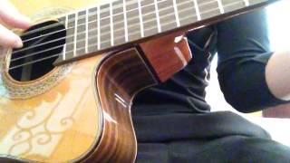 Đêm màu xanh cover guitar