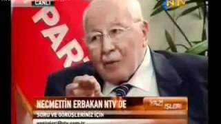 ERBAKAN  Akp'yi Kurduran Siyonizmdir!