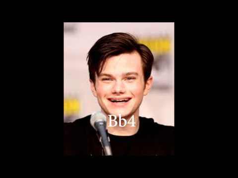 Chris Colfer - Studio and Live Vocal Range ~ A2-Bb5 3.1 Octaves