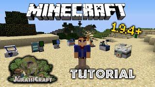 JurassiCraft 2.0 - How To Make A Dinosaur! (Minecraft 1.9.4+ Tutorial)