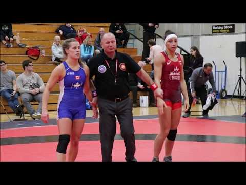 Alexandria Town - Wrestling Highlights 2018