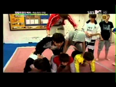 120623 Teen Top Rising 100% Ep 2 - Acrobatics Challenge