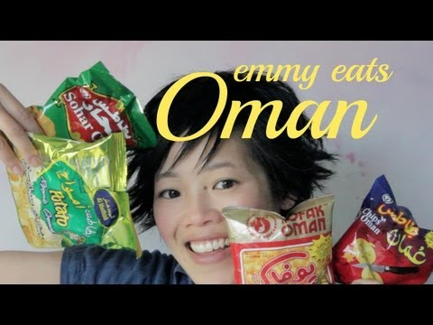 Emmy Eats Oman - tasting Omani Snacks & Sweets