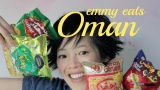 Emmy Eats Oman -- tasting Omani Snacks & Sweets