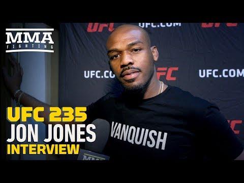 UFC 235's Jon Jones On Fighting Daniel Cormier at Heavyweight: 'Bring Out The Checkbook, Dana'