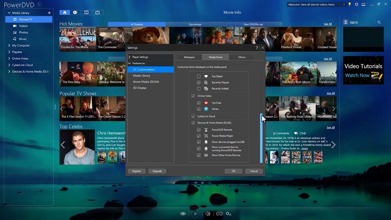 Customize Your PowerDVD Experience | PowerDVD - World's No  1 Movie & Media  Player
