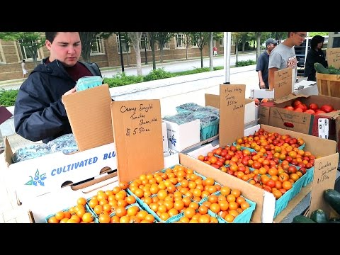 Kitchen Confidential: Farmers' Market