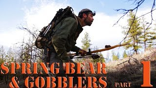 Spring Bear Hunting and Turkey Hunting with Primitive Bow