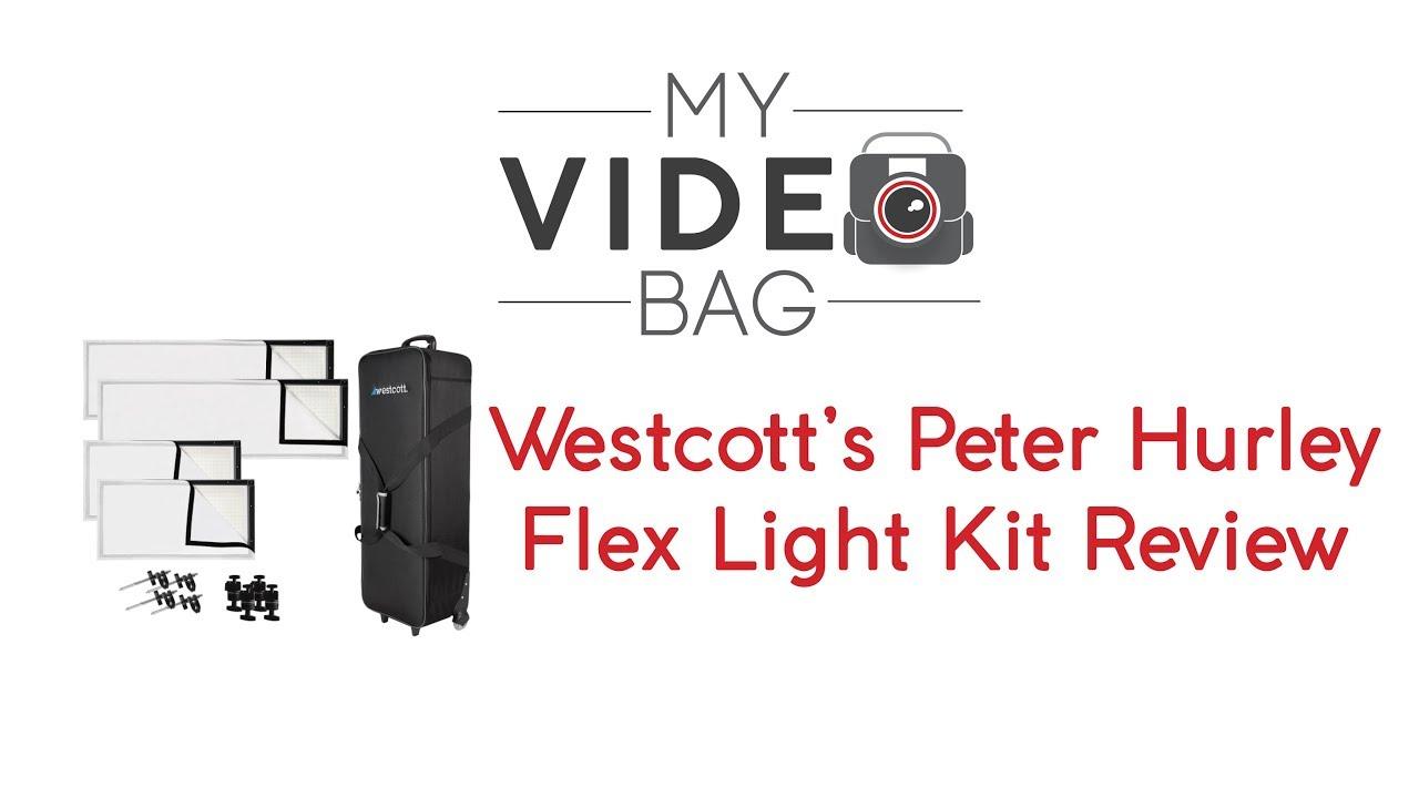 Westcott Peter Hurley Flex LED 4-Light Kit Review - MyVideoBag ...