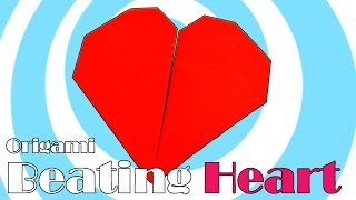 DIY: Paper Origami Beating Heart Video Tutorial