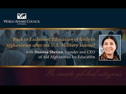 The World Affairs Council presents Hassina Sherjan, November 20, 2013