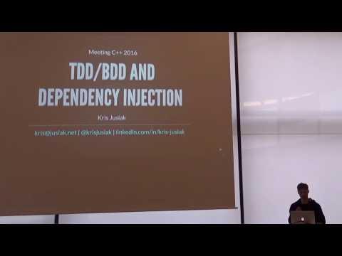 Lightning Talks Meeting C++ 2016 - Kris Jusiak - TDD/BDD and DI
