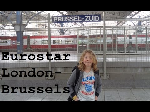 Eurostar from London to Brussels (Great Train Trip Pt1) - CAMT035