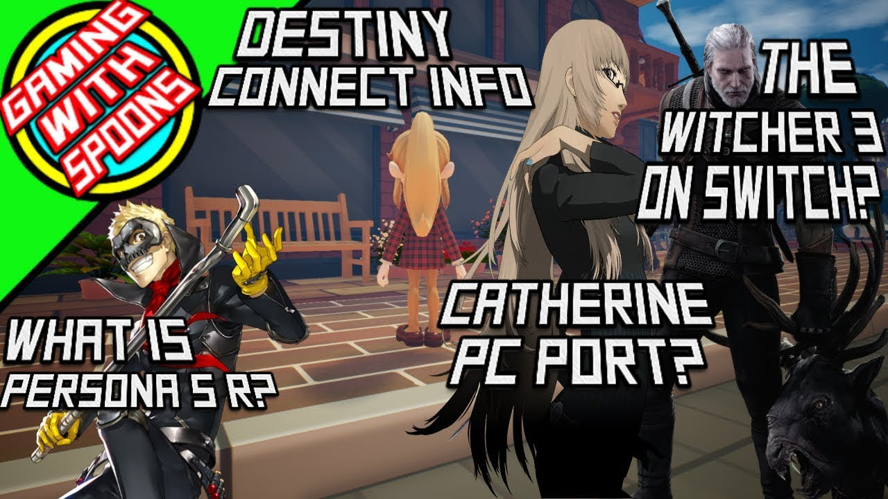 Witcher 3 To the Switch? Persona 5 R and Catherine to PC? |Gaming News
