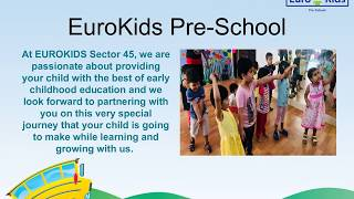 Best Playschool in Gurgaon sector 45   Top Preschool in Gurgaon sector 45   Eurokids