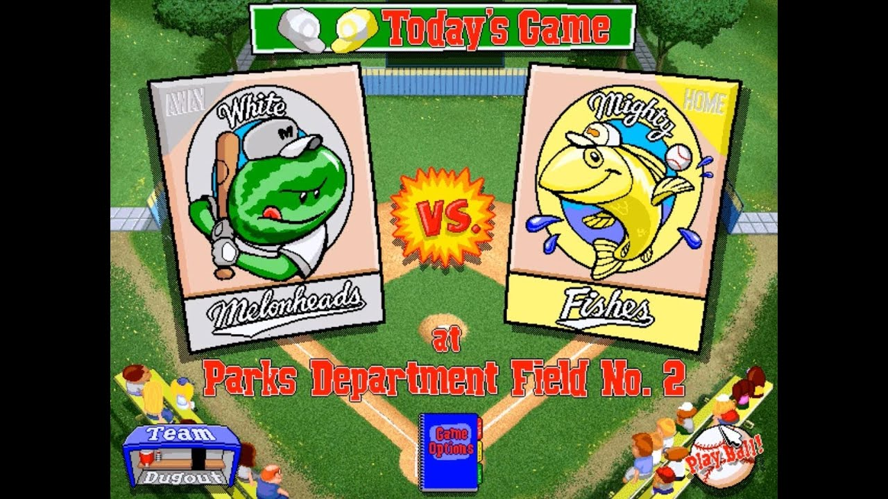Let's Play Backyard Baseball 1997 Season Game 5 White ...