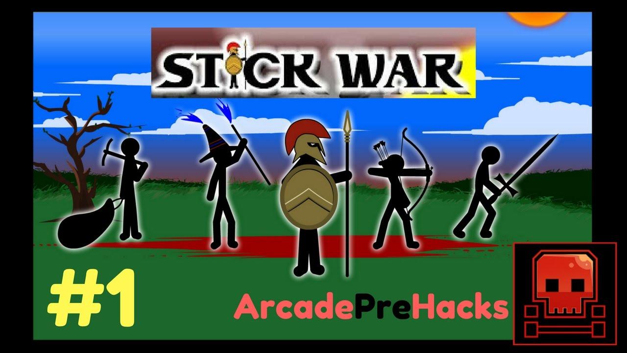 Stick War | #1 | FUN WAR SIMULATOR HACKED - ArcadePreHacks