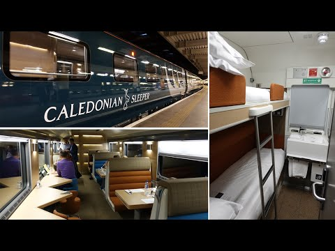 The All-new Caledonian Sleeper Train From London To Edinburgh