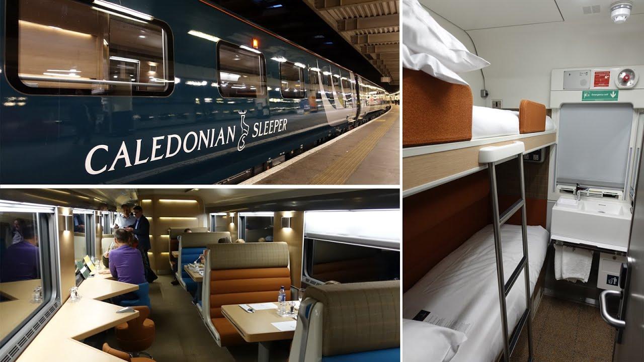London To Edinburgh On Caledonian Sleeper S All New Trains