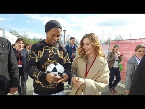 RONALDINHO l JAY JAY OKOCHA l Copa Confederaciones 2017 l KAZAN