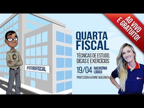 Quarta Fiscal - Raciocínio Lógico   Prof. Karine Waldrich   Ep. 09 de YouTube · Duração:  58 minutos 14 segundos